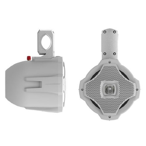 "Lanzar 6.5"" 2-Way Wake Board Speaker Sold Each White"