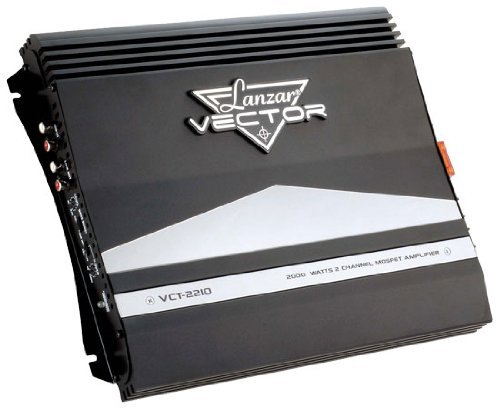 Lanzar 2000W 2 Channel High Power Mosfet Amplifier