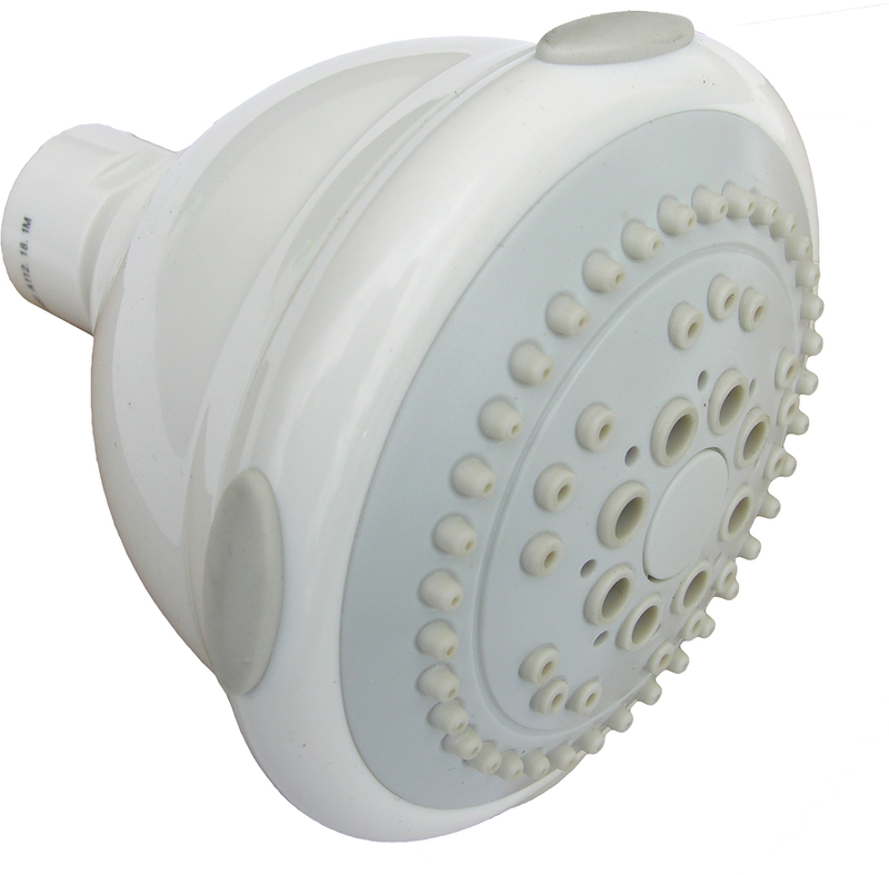 085121 WHT 5-FUNCT SHOWER HEAD