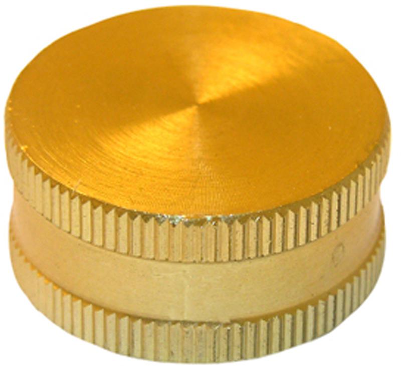 151763 3/4 BRASS HOSE CAP