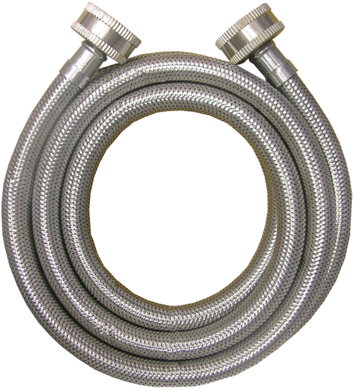 161808 6 FT. SS WASH MACHINE HOSE
