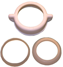 031844 1-1/2 IN. PLASTIC SJ NUT