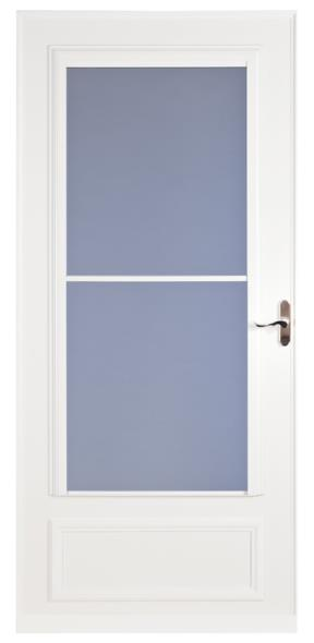 STORM DOOR MIDVIEW WHITE 32IN