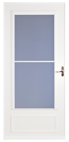 STORM DOOR MIDVIEW WHITE 36IN