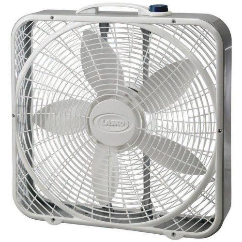 "20"" Premium Box Fan, 3 Speeds"