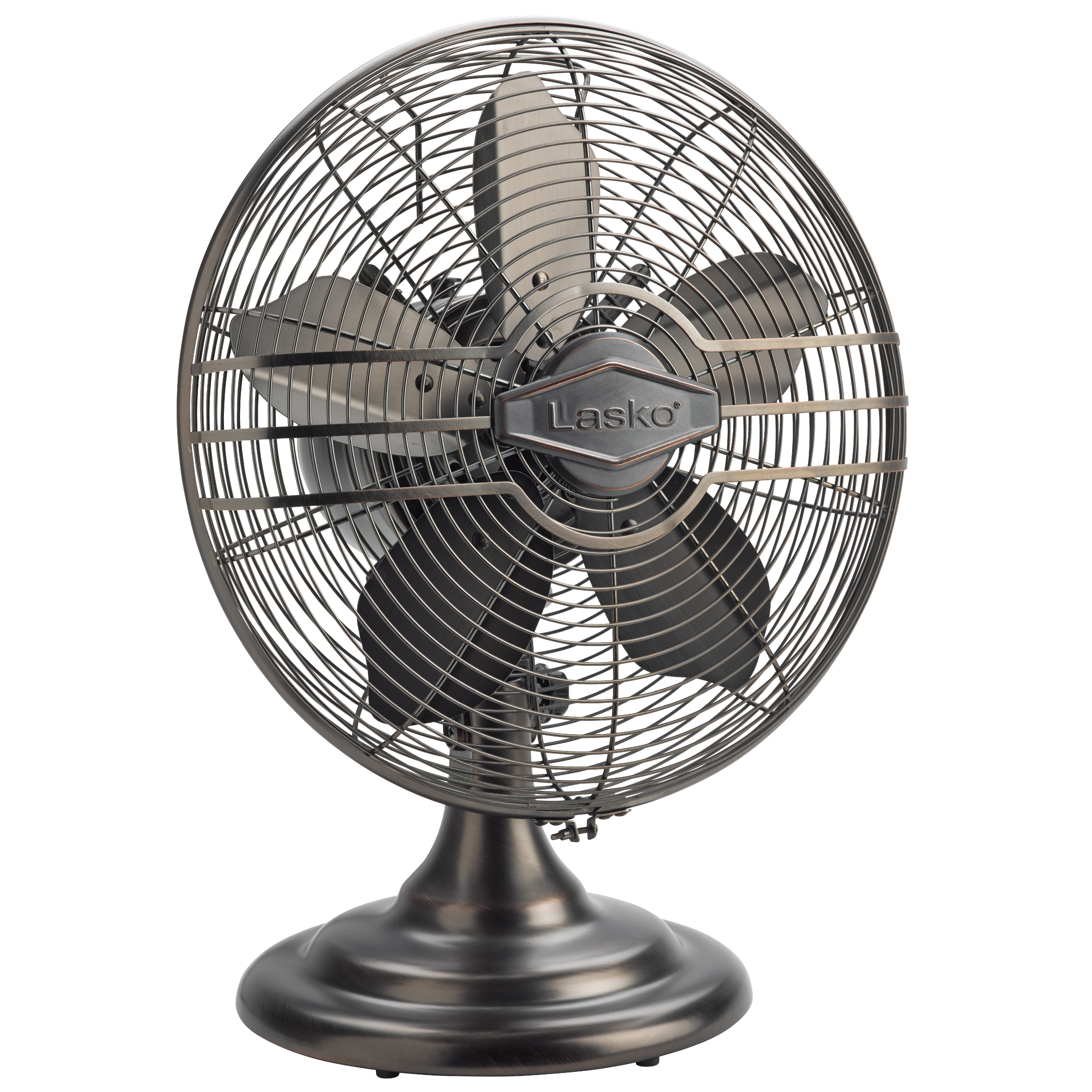 """12"""" Classic Table Fan - All Metal Construction, Quiet"""