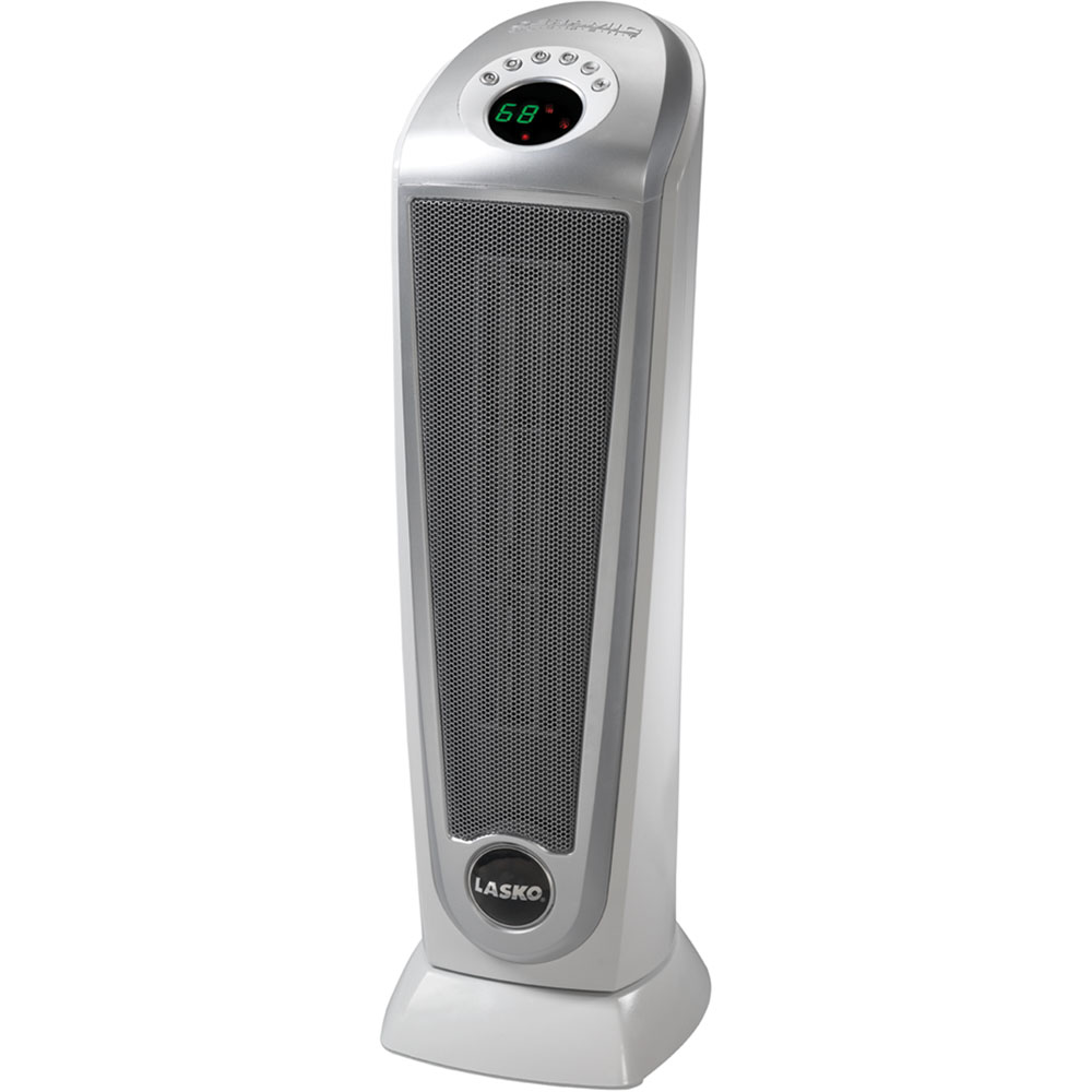 Ceramic Tower Heater w/ Digital Display and Remote Control