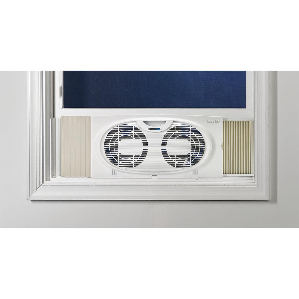 """7"""" Twin Window Fan, 2 Speed"""