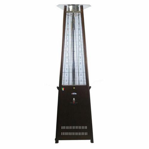 2G Propane Patio Heater, 66,000 BTU, Liquid Propane, Remote