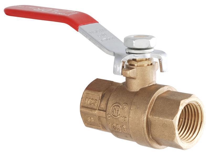 0201513 1/2 BRASS GAS VALVE