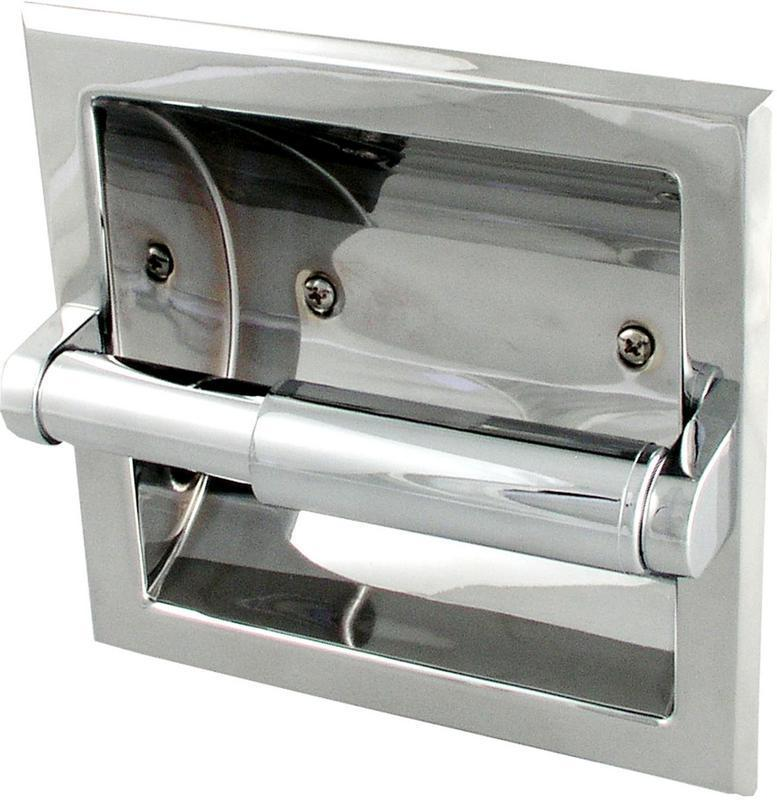 1624634 Chrome Recess Paper Holder
