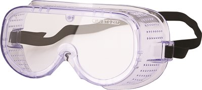 LEGENDFORCE� ANTI-FOG SAFETY GOGGLES, DIRECT VENT, CLEAR LENS