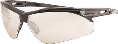 LEGENDFORCE� OUTDOOR SAFETY GLASSES, BLACK FRAME, UV REFLECTIVE LENS