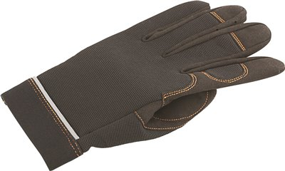 LEGENDFORCE� SYNTHETIC LEATHER MECHANIC GLOVES, HOOK AND LOOP STRAP, LARGE