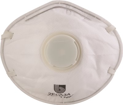 LEGENDFORCE� N95 CONICAL PARTICULATE RESPIRATOR WITH VALVE, 10 PER BOX