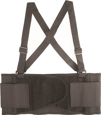 LEGENDFORCE� BACK SUPPORT BELT, BLACK, EXTRA LARGE