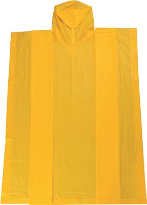 LEGENDFORCE� LIGHTWEIGHT PONCHO, YELLOW, 50 X 80 IN.