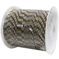 Lehigh NPC5503240C Braided Paracord, 5/32 in Dia x 400 ft L, 110 lb, Nylon, Camouflage
