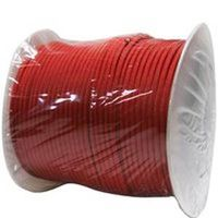 Lehigh NPC5503240R Braided Paracord, 5/32 in Dia x 400 ft L, 110 lb, Nylon, Red