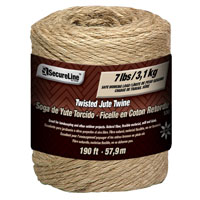 Lehigh 530-12CC Heavy Duty Biodegradable Twine, 190 ft L