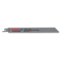 Lenox 10833 Reciprocating Saw Blade, 8 in L x 3/4 in W x 0.04 in T