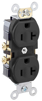 S00-CR20-S DUPLEX GRD OUTLET