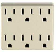 C21-6ADPT-I 6 OUTLET ADAPTER