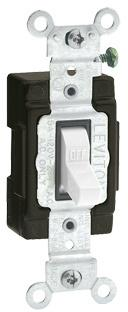 C22-05501-LHW WH LIGHT SWITCH
