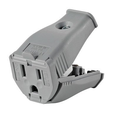 HINGED CONNECTOR 15A GRAY