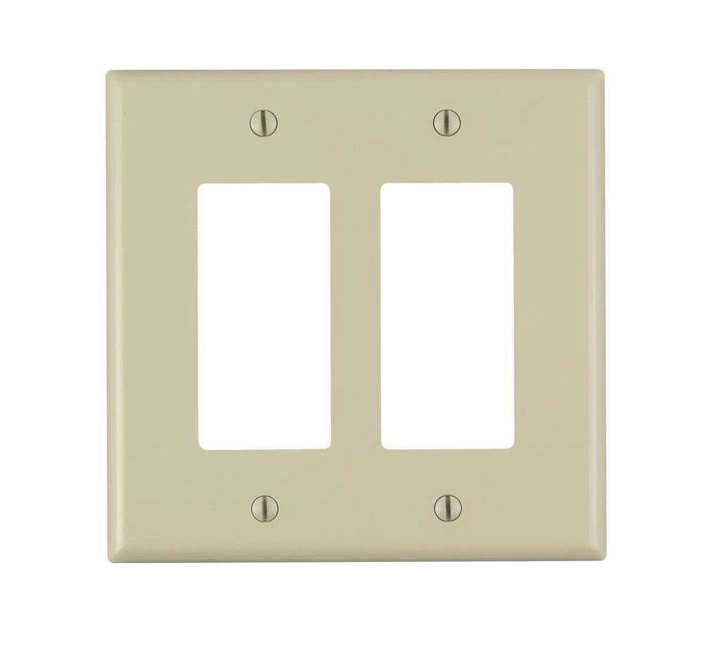 WALLPLATE 2DEC NYLN MID IV
