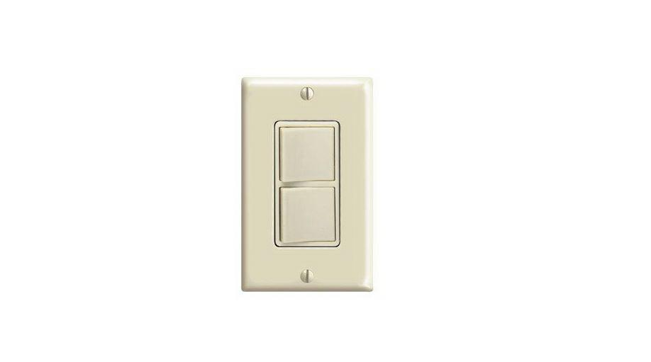 Leviton C21-05679-00I Decora Rocker Switch, 120/277 VAC, 15 A, 1 P