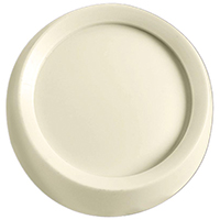 Leviton C24-26115-00T Round Rotary Dimmer Knob, For Use With Dimmer and Fan Controls With Half Moon Stem, Light Almond