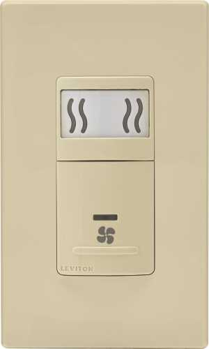 HUMIDITY SENSOR AND FAN CONTROL, IVORY