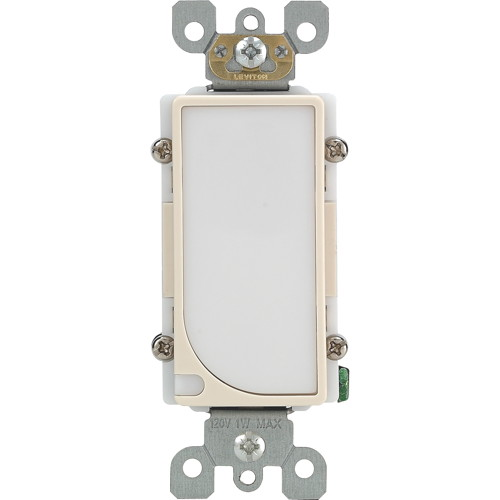 LEVITON LED SENSOR GUIDE LIGHT, LIGHT ALMOND