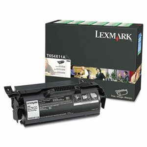 T654X11A Extra High-Yield Toner, 36000 Page-Yield, Black