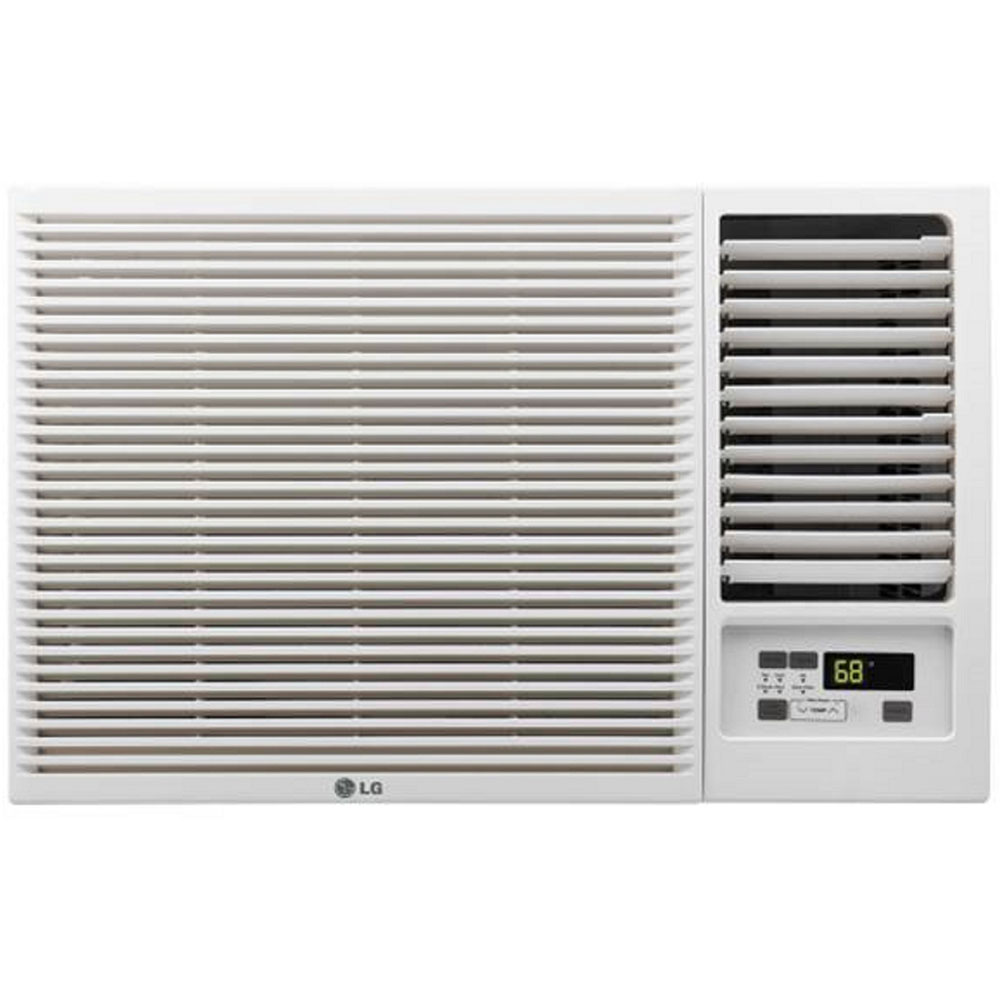 7500 BTU Cooling & Heating Window Air Conditioner, White