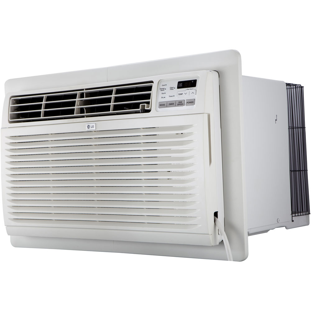 10,000 BTU Thru-the-Wall Air Conditioner with Heat, 230V