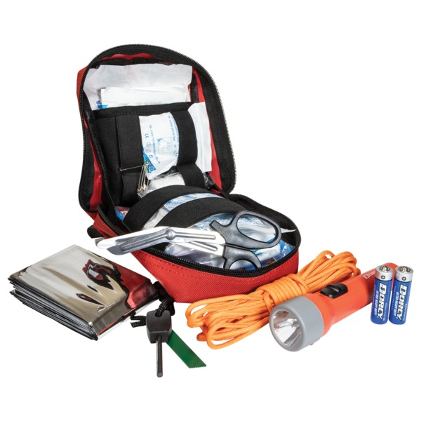 Life+Gear 41-3806 116-Piece First Aid and Survival Tactical Pack