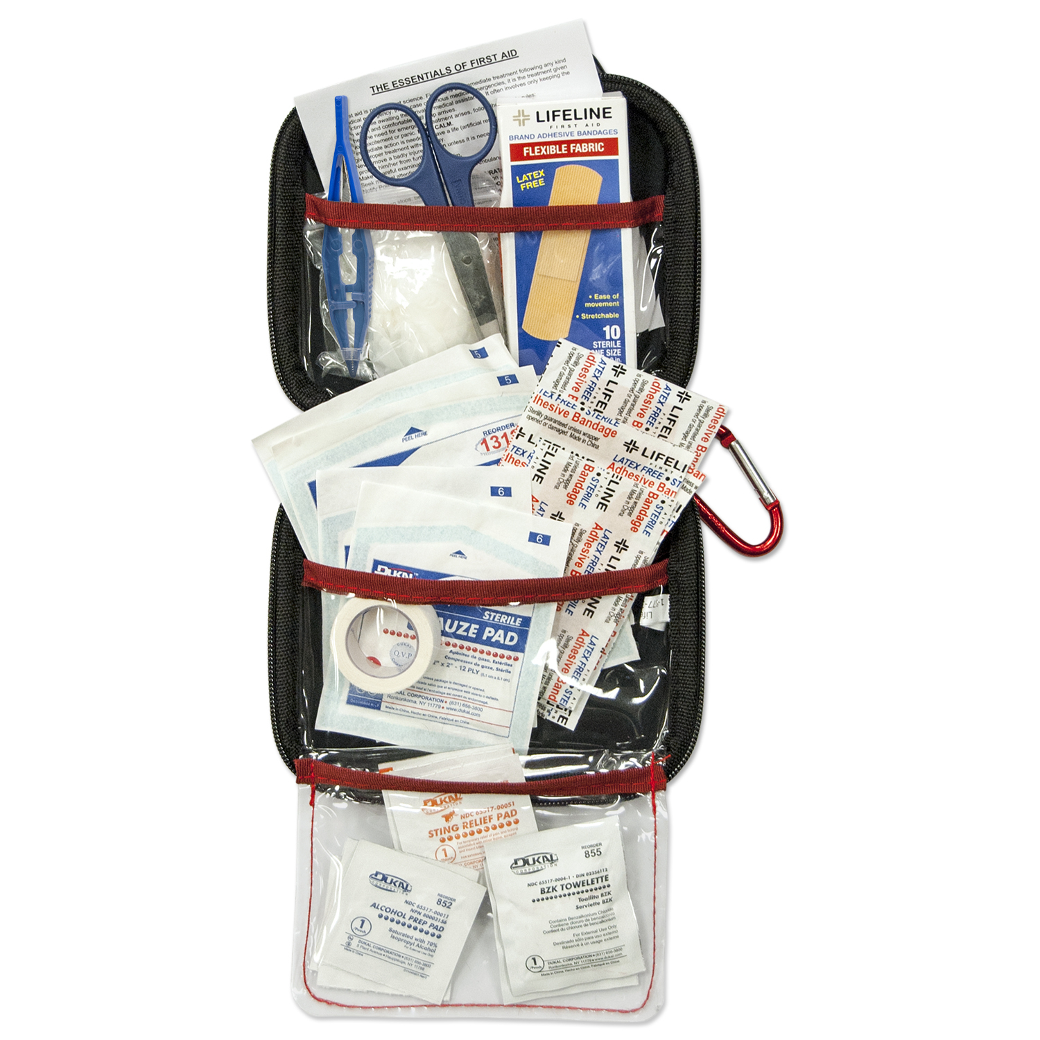 Lifeline EVA First Aid Kit, 53 Piece