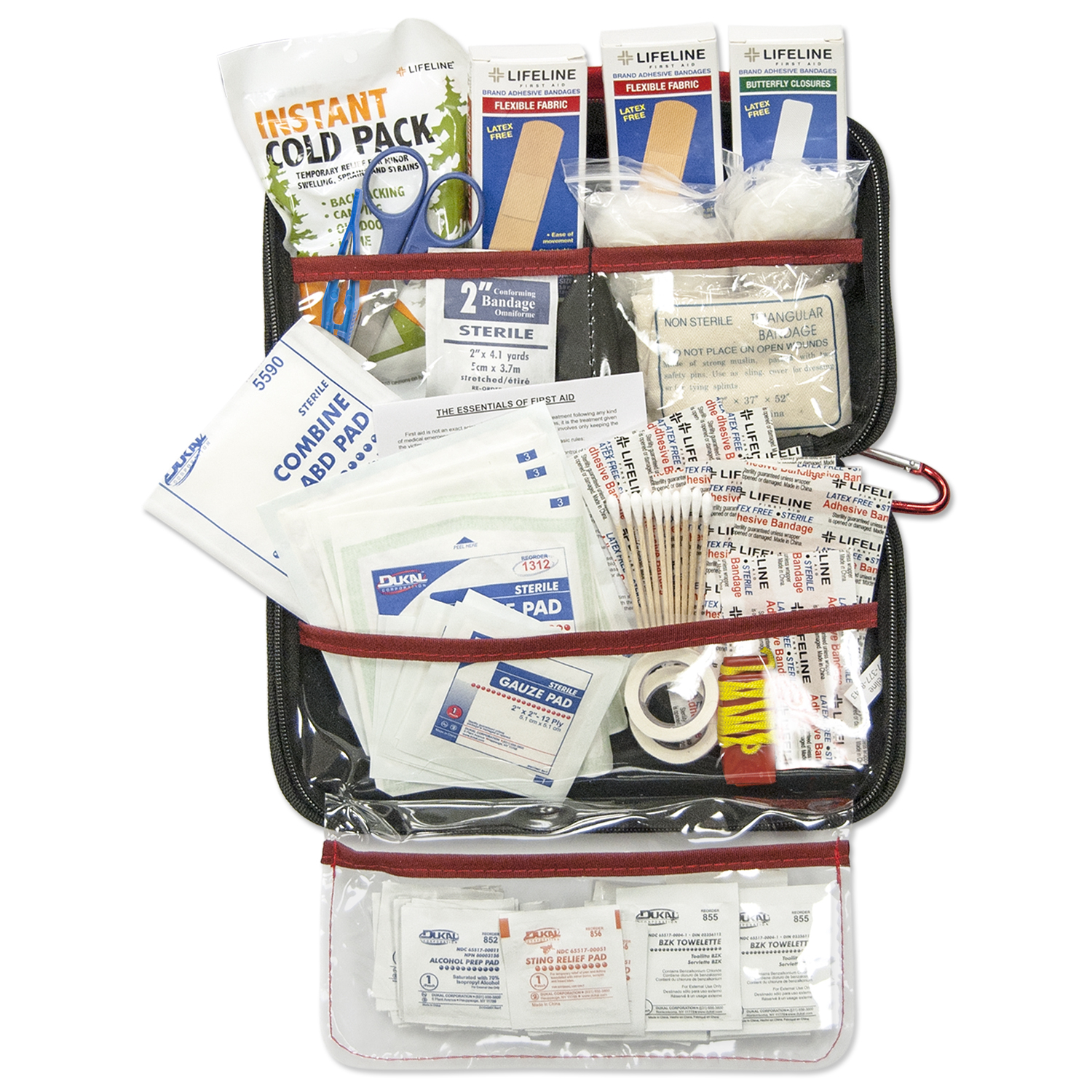 Lifeline EVA First Aid Kit, 121 Piece