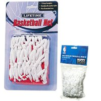 Lifetime 0750 All-Weather Basketball Net, Polyester, Nylon, White