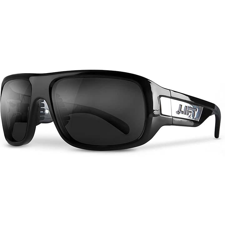 Lift Safety BOLD Safety Glasses Black/Smoke