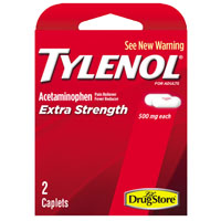 TYLENOL TRIAL EX-STR CAPLT 4CT