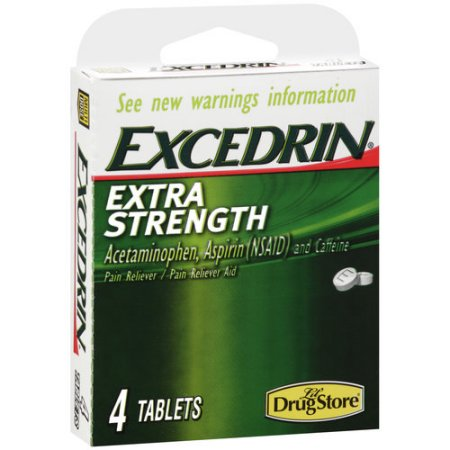 EXCEDRIN TRIAL EX-STRENGTH 4CT