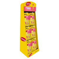 Carmex 7-92554-00314-8 Lip Care Counter Display, 48 Pieces, 0.35 oz