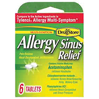 Lil' Drug Brand Trial Sinus Relief Tablet, 6 CT
