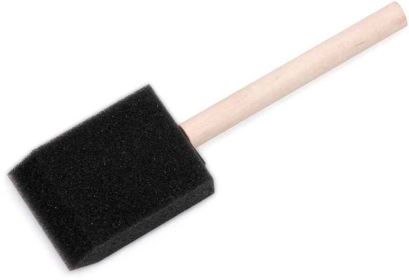 8500-1 IN. WD HANDLE FOAM BRUSH