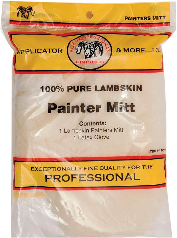 10011 LAMBSKIN PAINTERS MITT