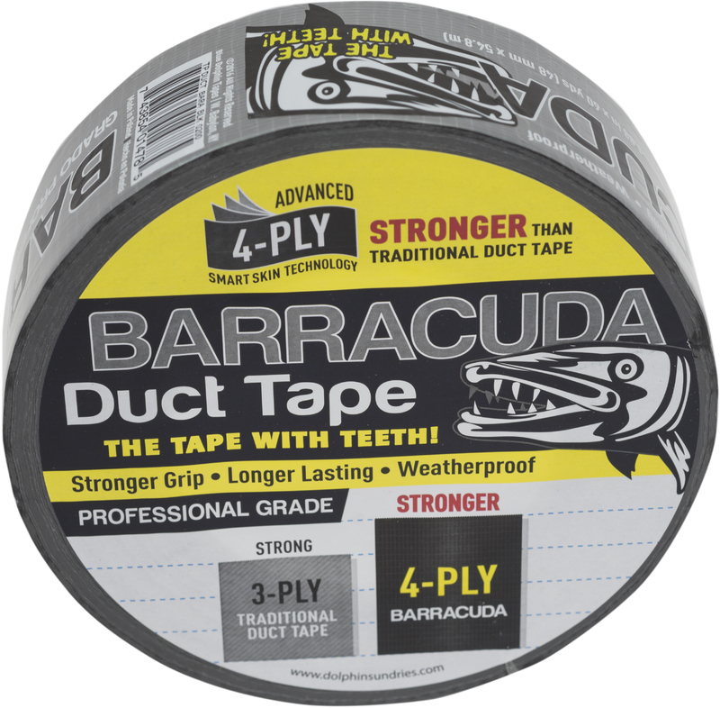 TPDUCTBARABLK 2X60 DUCT TAPE