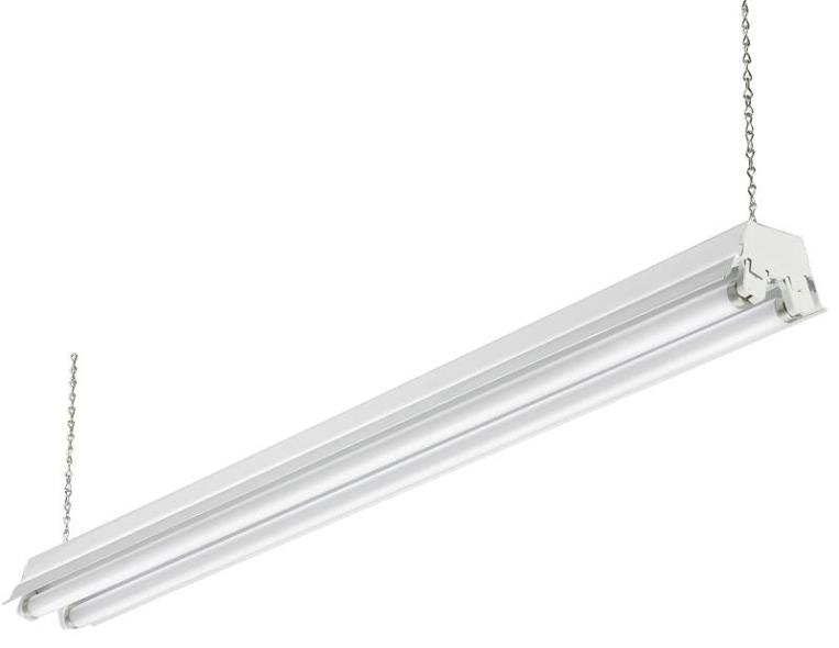 Acuity 208PUR High-Low Fluorescent Shoplight Fixture, 120 V, 2 Lamp